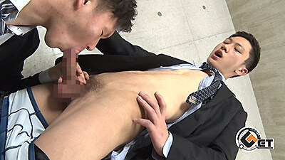 Men's Rush.TV – GT-1817 – イケメン過ぎ注意!NATSUKIが短髪スーツ姿で汗だくエロピストン♂